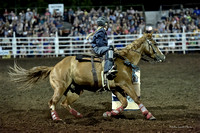 Junior Barrel Racing Kids Canby Rodeo
